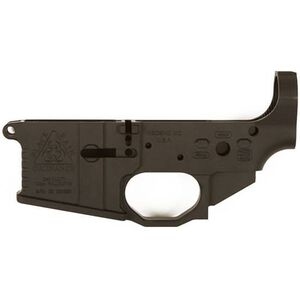 Black Rain Ordnance AR-15 Billet Stripped Lower Receiver with Integrated Trigger Guard