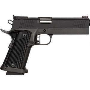 "Rock Island Armory PRO Ultra Match HC 1911 .40 S&W Semi Auto Handgun 5"" Barrel 16 Rounds G10 Grips Parkerized Black"