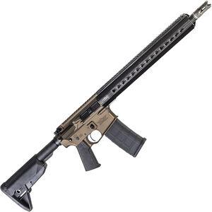 "Christensen Arms CA-15 G2 5.56 NATO AR-15 Semi Auto Rifle 16"" Carbon Fiber Wrapped Barrel with .223 Wylde Chamber 30 Rounds M-LOK Handguard Bronze Finish"