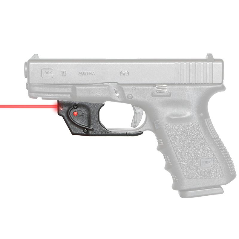 Viridian Essential Red Laser Sight for Glock 22/23/17/19/26/27, Non-ECR