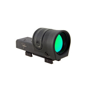 Trijicon 42mm Reflex Amber Sight 4.5 MOA Dot Reticle With Weaver Mount 1x Magnification Fiber Optic/Tritium Cast Aluminum Housing Matte Black