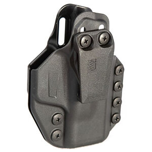 BLACKHAWK! Stache IWB Base Kit fits S&W M&P Shield 9/40 with CT Laserguard or TLR-6 Ambidextrous Holster Polymer Black