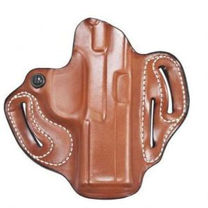 DeSantis Gunhide Speed Scabbard Ruger Security-9 Belt Holster Right Hand Leather Tan