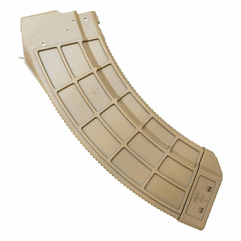Century Arms US Palm AK-47 30 Round Magazine with Steel Cage, Flat Dark Earth