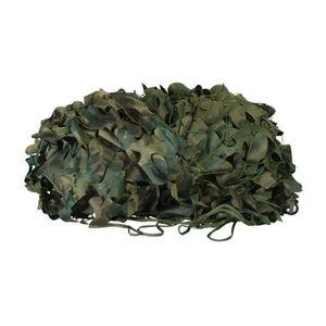 Voodoo Tactical Mil-Spec Leaf Cut Camo Netting 10'x12' Woodland 02-9296005000