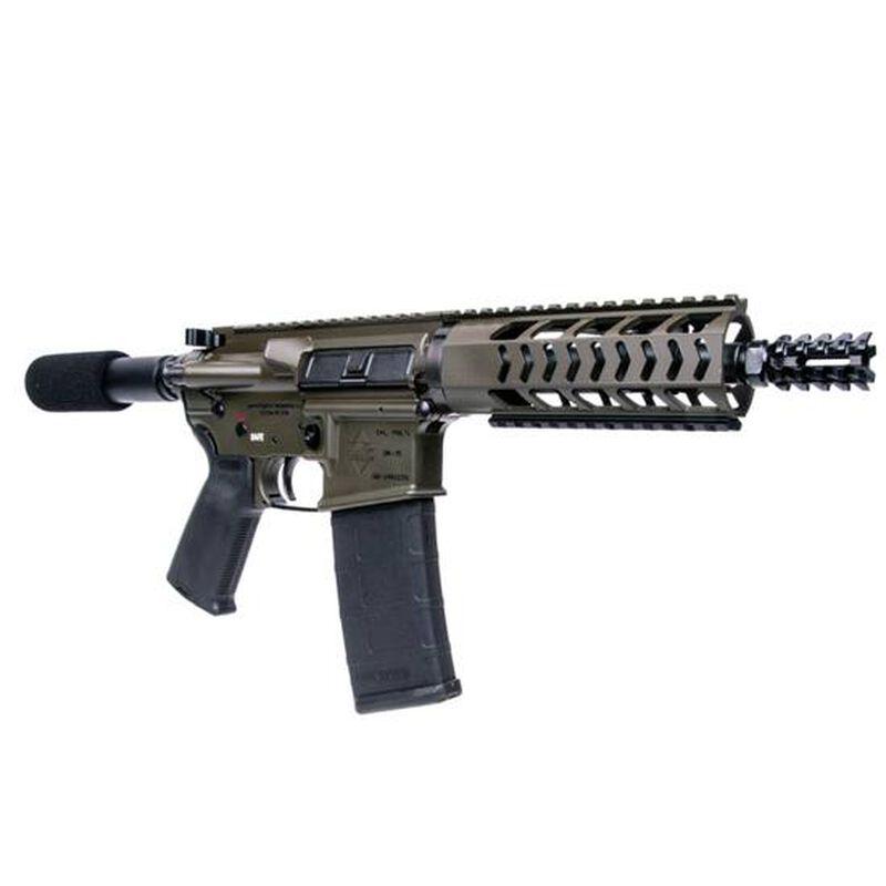 "Diamondback DB15 Semi Automatic Pistol 5.56 NATO/.223 Remington 7.5"" Barrel 30 Rounds No Stock OD Green Finish DB15PODG7"