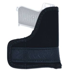 GrovTec 04 Most Sub Compact 9/40 Semi Autos GT Pocket Holster Ambi Suede Black
