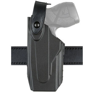 Safariland Model 7520 Axon Taser X26/X26P 7TS SLS EDW Clip-On Belt Holster Left Hand SafariSeven Basket Black