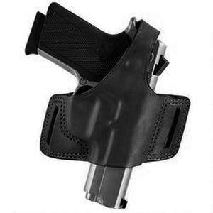 Bianchi Black Widow Belt Slide Holster Fits GLOCK 20/21 Right Hand Leather Black