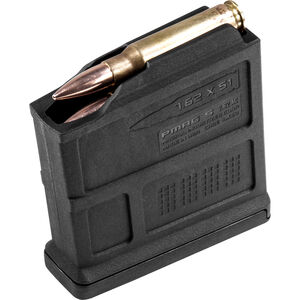 Magpul PMAG AC/AICS Short Action Magazine .308/7.62 5 Rounds Black Polymer MAG549-BLK