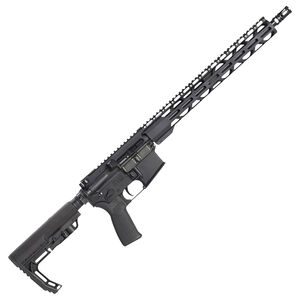 "Radical Firearms AR15 5.56 NATO Semi-Auto Rifle 16"" Barrel 30 Rounds Flat Top Optics Ready MFT Stock Black Finish"