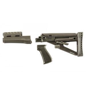 ProMag Archangel OPFOR Series AK-47 Furniture Set Stamped Receiver Adjustable Buttstock Polymer Olive Drab Green