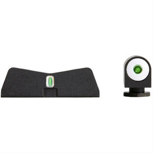 XS Sight Systems DXT Big Dot Night Sights for GLOCK 42/43 Green Tritium Front/Tritium Rear Matte Black