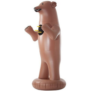 """NXT Generation Toys 3 D Bear Target 64"""" Inflatable Tall Brown"""