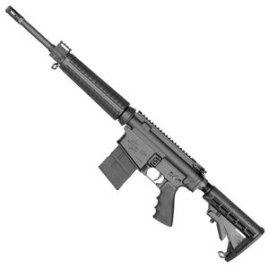 "Rock River Arms LAR-8 Mid Length A4 Semi Auto Carbine .308 Win/7.62 NATO 16"" Barrel 20 Rounds Black M4 Collapsible Buttstock Black Anodized Finish 308A1239"