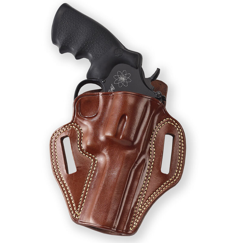 Galco Combat Master Belt Holster Ruger Security Six S&W K-Frame Taurus 415  Right Hand Tan Leather