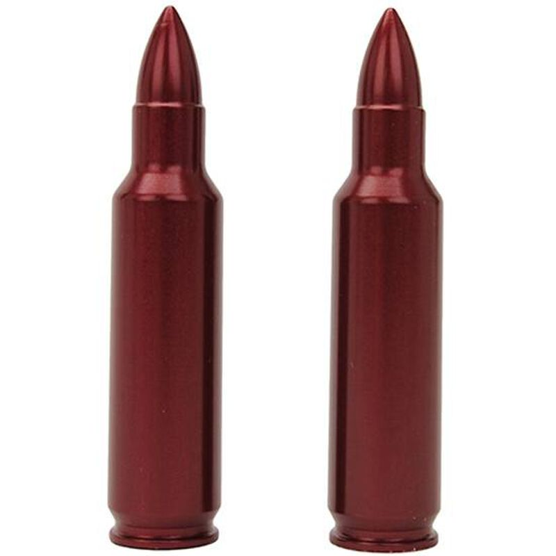 A-Zoom 7mm-08 Rem Snap Caps Aluminum Red 2 Pack 12247
