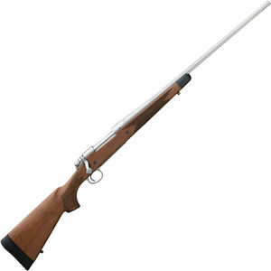 """Remington 700 CDL SF .25-06 Rem Bolt Action Rifle 24"""" Fluted Barrel 4 Rounds Satin Walnut Stock Stainless Finish"""
