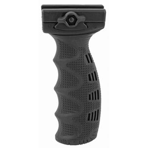 FAB Defense AR-15 Rubberized Ergonomic Foregrip Picatinny Mount Polymer Black