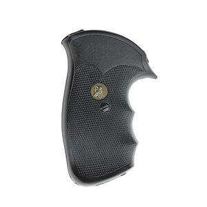 Pachmayr Gripper Grips S&W N Frame Revolvers Square Butt Finger Grooves Rubber Black 03292