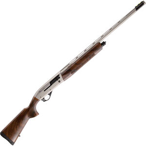 "Istanbul Silah Impala Plus Emerald 12 Ga Semi Auto Shotgun 30"" Vent Rib Barrel 4 Rounds Wood Stock Stainless Finish"