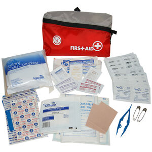 Ultimate Survival Technologies FeatherLite First Aid Kit 2.0 Treats Minor Injuries Nylon Case Red 80-30-1455