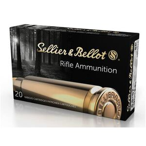 Sellier & Bellot 6.5x57mm Mauser Ammunition 20 Rounds SP 131 Grains SB6557A