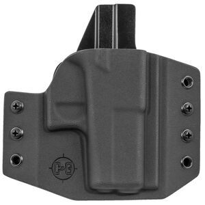 C&G Holsters Covert OWB Holster for GLOCK 43 Right Hand Draw Kydex Black