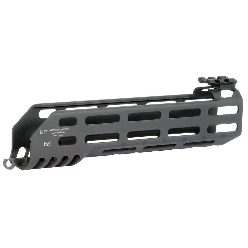 "Midwest Industries SIG Sauer MCX 8.25"" One Piece Drop In M-LOK Compatible Hand Guard 6061 Aluminum Hard Coat Anodized Finish Matte Black"