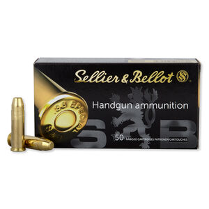 Sellier & Bellot .38 Special Ammunition 50 Rounds FMJ 158 Grains SB38P