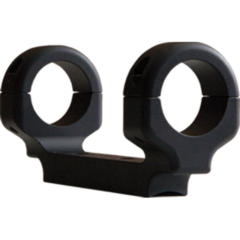 DNZ Products Game Reaper Ruger American SA One Piece Scope Mount Medium Height 30mm Tube Aluminum Black
