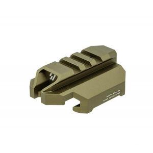 Strike Industries Stock Adapter w/ QD for CZ EVO in Black SI-CEVO-SA-QD-FDE
