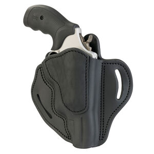 1791 Gunleather RVH-3 OWB Belt Holster for Z Frame Revolvers Right Hand Draw Leather Black