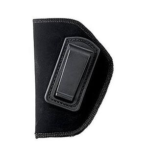 "BLACKHAWK! Inside the Pant Holster for 2"" Small Frame 5 Shot Revolver with Hammer Spur, Left Hand, Belt Clip, Black"