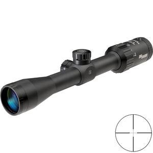 SIG Sauer WHISKEY3 2-7x32mm Rifle Scope Quadplex Reticle 1 Inch Tube .25 MOA Adjustment Matte Black Finish