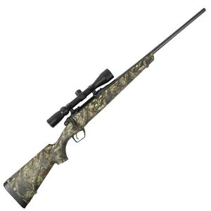 """Remington Model 783 Bolt Action Rifle .308 Win 22"""" Barrel 4 Rounds Mossy Oak Break Up Country Synthetic Stock Matte Black with 3-9x40 Scope 85754"""