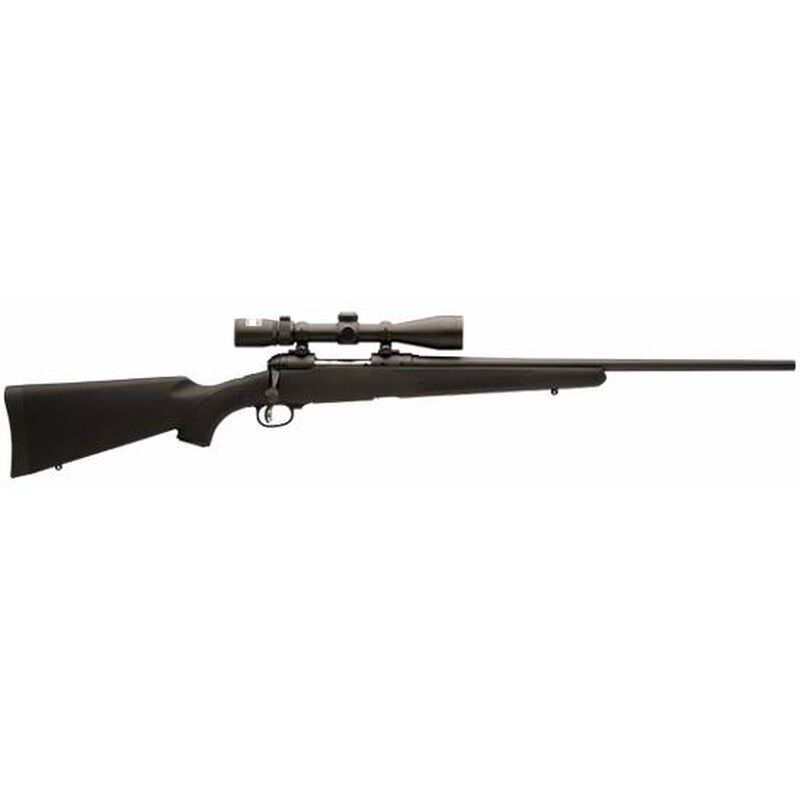 """Savage 11 Trophy Hunter XP Bolt Action Rifle .243 Win 22"""" Barrel 4 Rounds Synthetic Stock Black Finish Nikon 3-9x40 Scope 19679"""