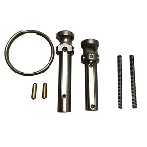 XTS AR-15 Stainless Extended Pivot & Takedown Pin with Ring