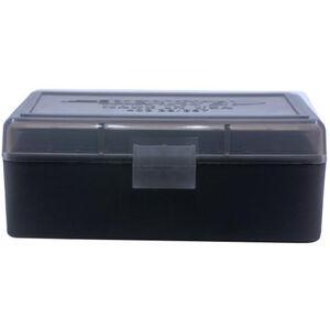 Berry's 403 Ammo Box .38/.357 50 Round Polymer Smoke/Black