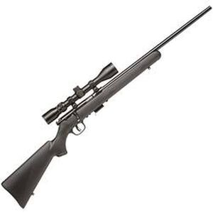 "Savage Model 93 FXP Bolt Action Rifle .22 WMR 21"" Barrel 5 Rounds Black Synthetic Stock Bushell 3-9x40 Scope 91806"