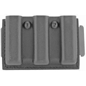 Safariland Model 775 Slimline Open Top Triple Magazine Pouch Fits Glock 17 Magazines STX Black