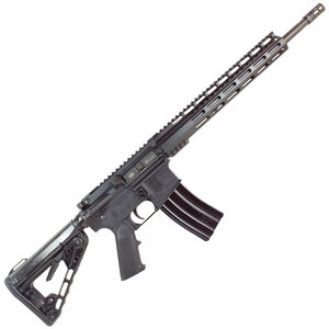 "Diamondback Firearms DB15CCK AR-15 Semi Auto Rifle .300 Blackout 30 Rounds 16"" Barrel M-LOK Handguard Collapsible Stock Black"
