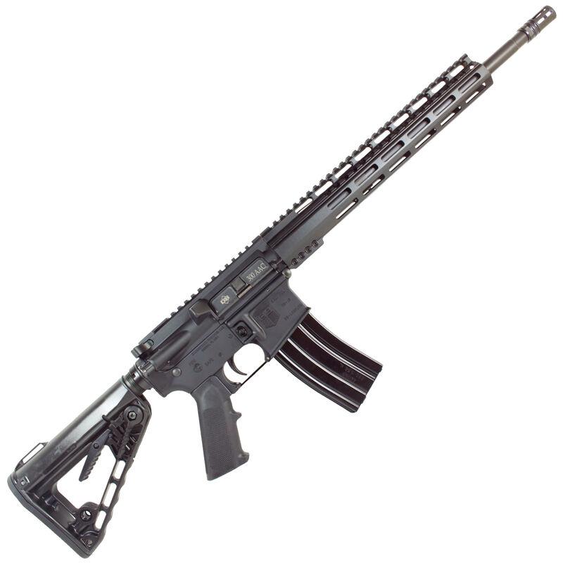 "Diamondback Firearms DB15CCK AR-15 Semi Auto Rifle .300 Blackout 30 Rounds 16"" Barrel M-LOK Handguard Collapsible Stock Black"