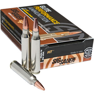 SIG Sauer Elite Hunting .243 Win 80 Grain 20 Rounds Copper Hollow Point
