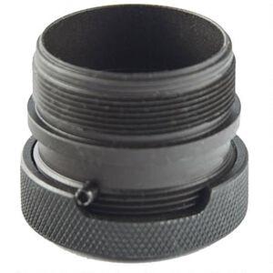 SilencerCo ASR Mount for Omega K Series/Octane Series/Harvester 300 Suppressors and ASR Compatible Muzzle Devices Matte Black