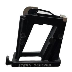 Stern Defense AR-15 Magazine Well Adapter M&P 9/40 and SIG Sauer P320/P250 Magazines CNC Machined Aircraft Grade Aluminum Black