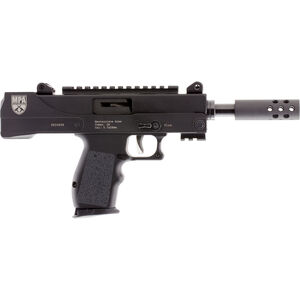 "Masterpiece Arms Defender MPA57DMG 5.7x28 Semi Auto Pistol 4.5"" Threaded Barrel 20 Rounds FN Magazine Compatible Side Cocker/Scope Mount Cerakote Black Finish"
