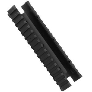 """ERGO Grip Tri Rail Forend for Mossberg with Low Profile Rail Covers 500/590 Black 5-3/16"""" 4865-SHORT"""