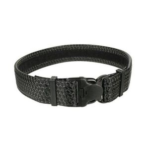 "BLACKHAWK! Reinforced 2"" Duty Belt With Loop Inner Surface Size X-Large 44"" to 48"" Waist Basketweave Finish Black"