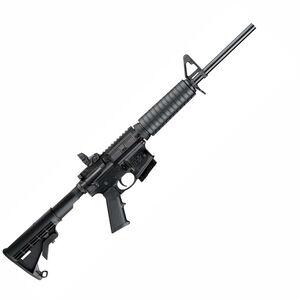 """S&W M&P15 Sport II AR-15 5.56 NATO Semi Auto Rifle 16"""" Barrel 10 Rounds Non Threaded Fixed 6 Position Stock Black 10203"""